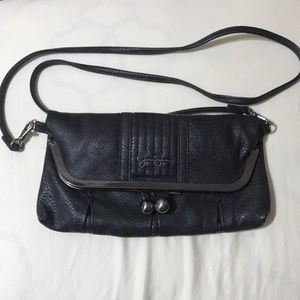 Black clutch purse- Jessica Simpson